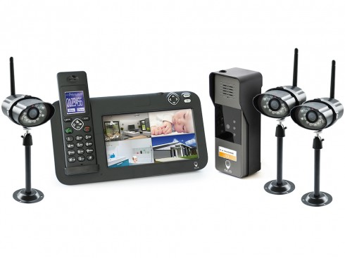 exemple d'un interphone avec videosurveillance
