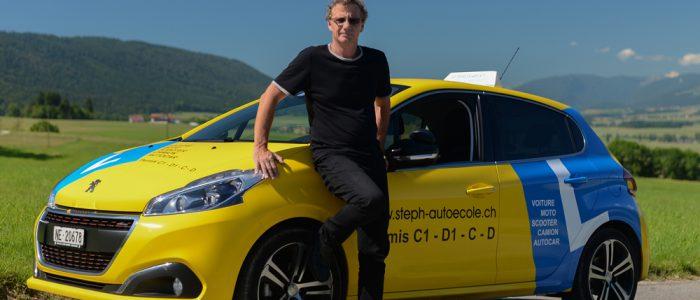 auto école en suisse à neuchatel