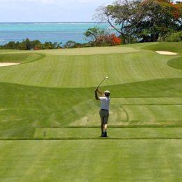golfeur seul sans risques !